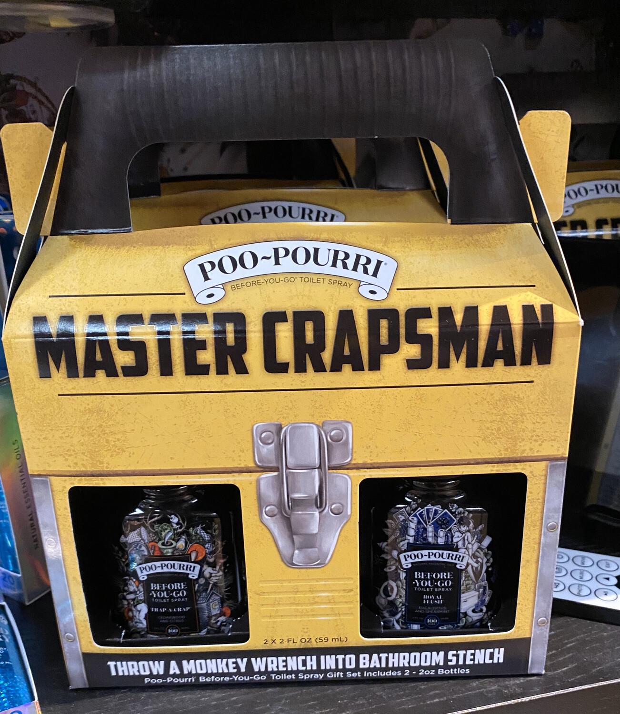 Poo Pourri  Master Crapsman Gift Set 2 -2oz