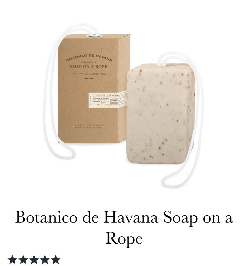 Archipelago Botanico De Havana Soap On A Roap