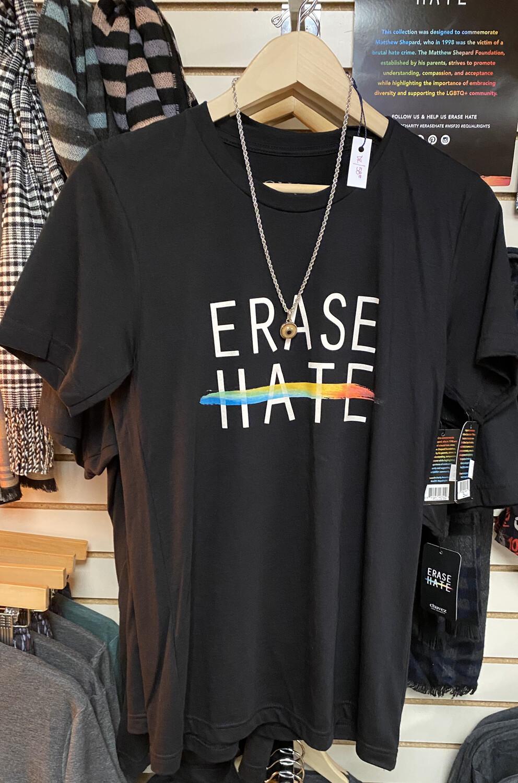 Erase Hate Size XXL. Helps The Mathew Shepard Foundation
