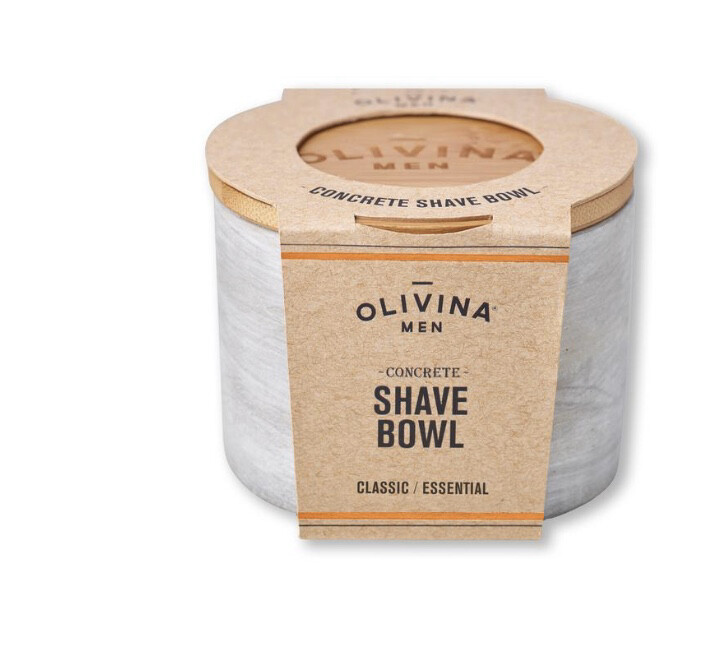Olivina Promise Stone And Wood Shave Soap Holder