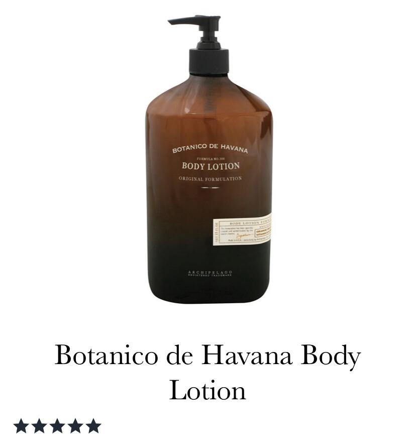 Archipelago Botanica de Havana Body Lotion