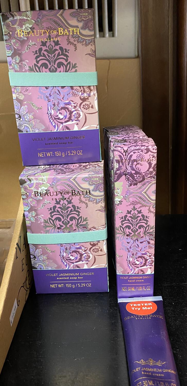 Violet Jasminium Ginger Soap