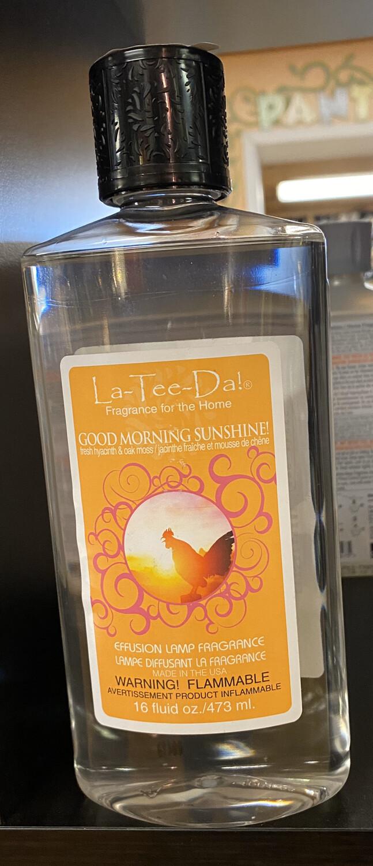 La Tee Da Good Morning Sunshine Fresh Hyacinth & Oak Moss 16 oz