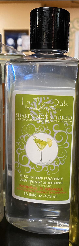 La Tee Da Shaken Not Stirred Crisp Green Apple Effusion Lamp Oil