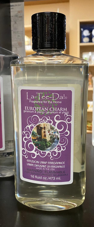 La Tee Da European Charm Geranium & Ylang 16oz