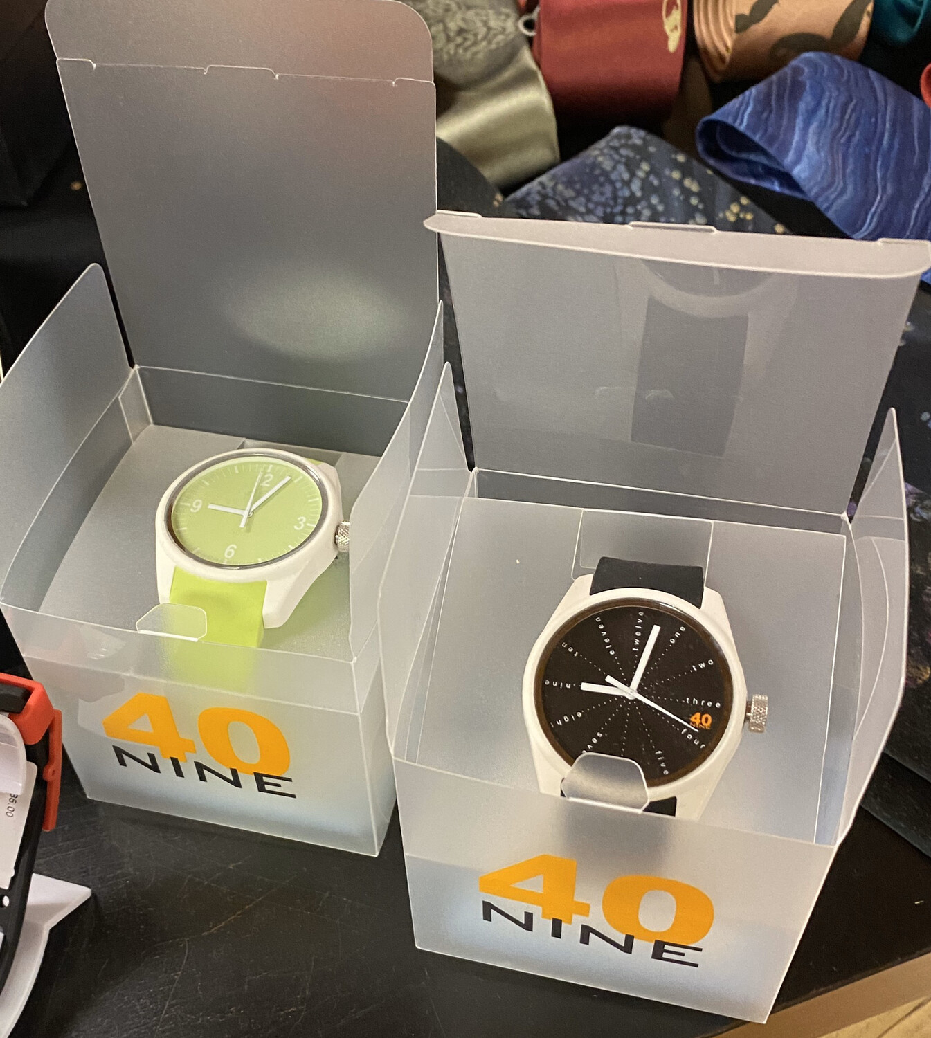 Fun Watches Black Face. Water Resistant 2 Year Warranty Japanese Quartz Boxed. Tap For Styles.