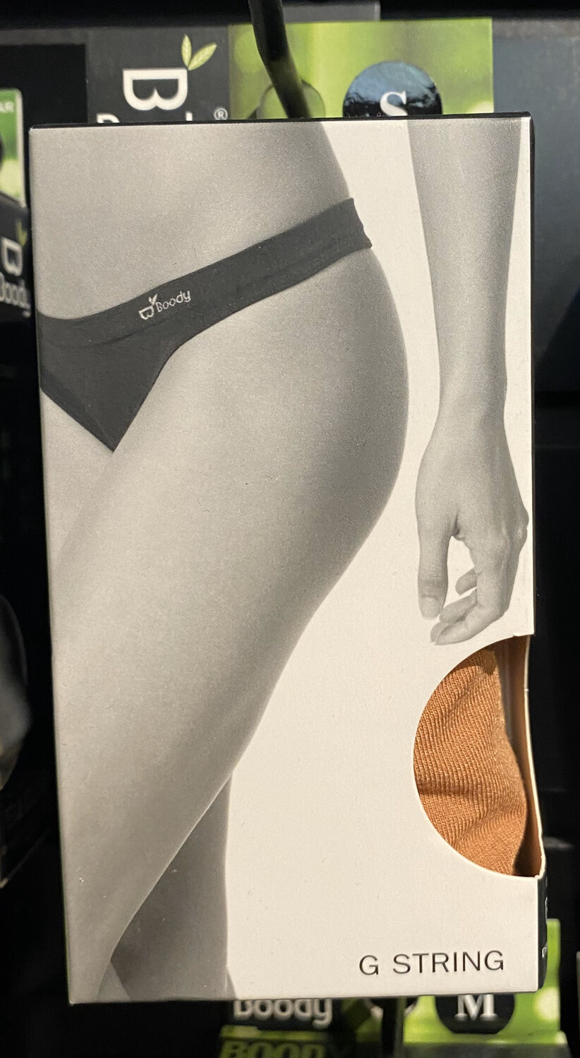 Woman's Bamboo Tan Nude G String Tap For Sizes