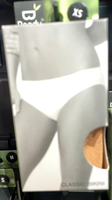 Woman's Bamboo Tan Nude Classic Bikini