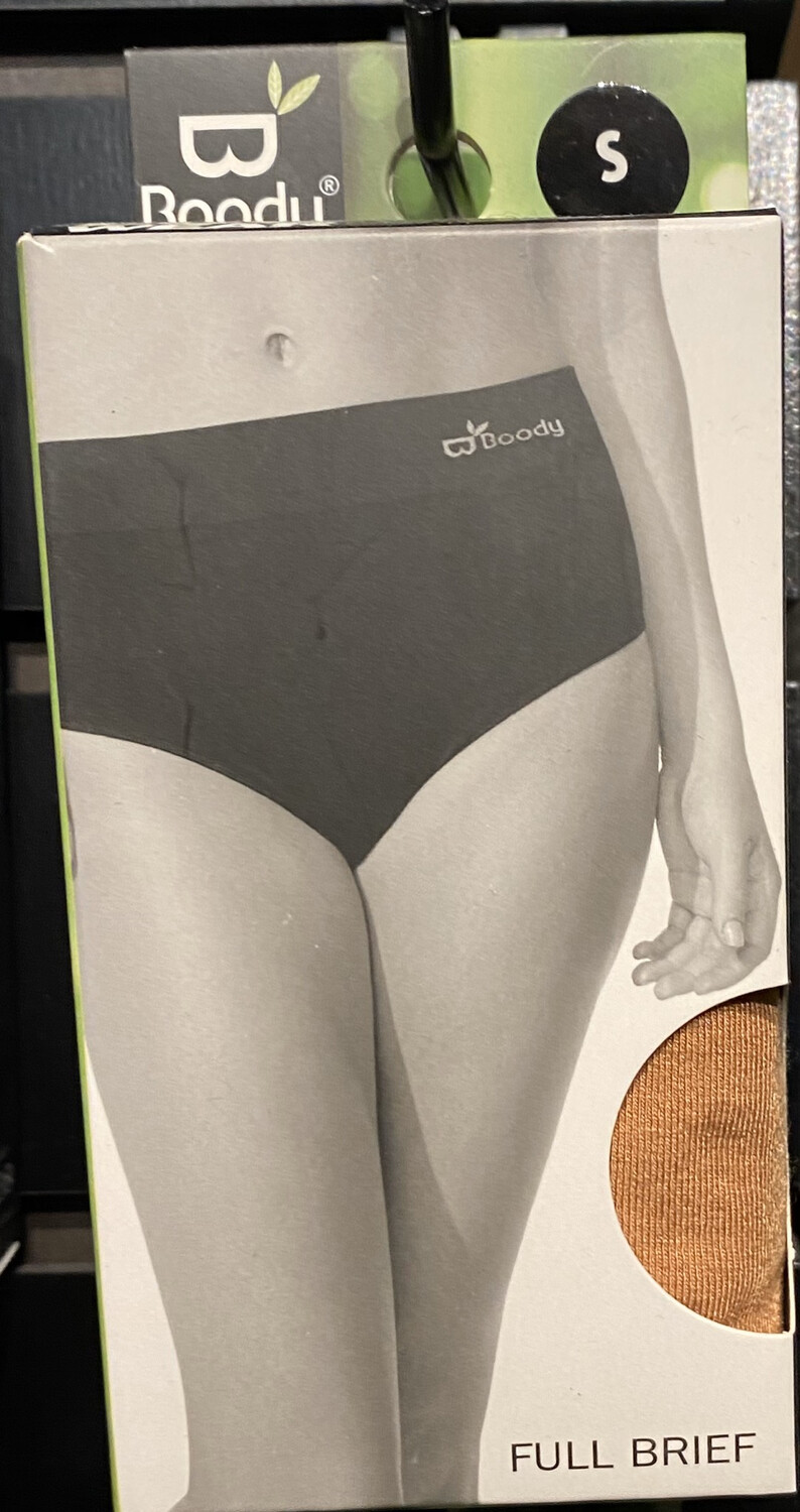 Woman's Bamboo Tan Full Brief Tap For Sizes