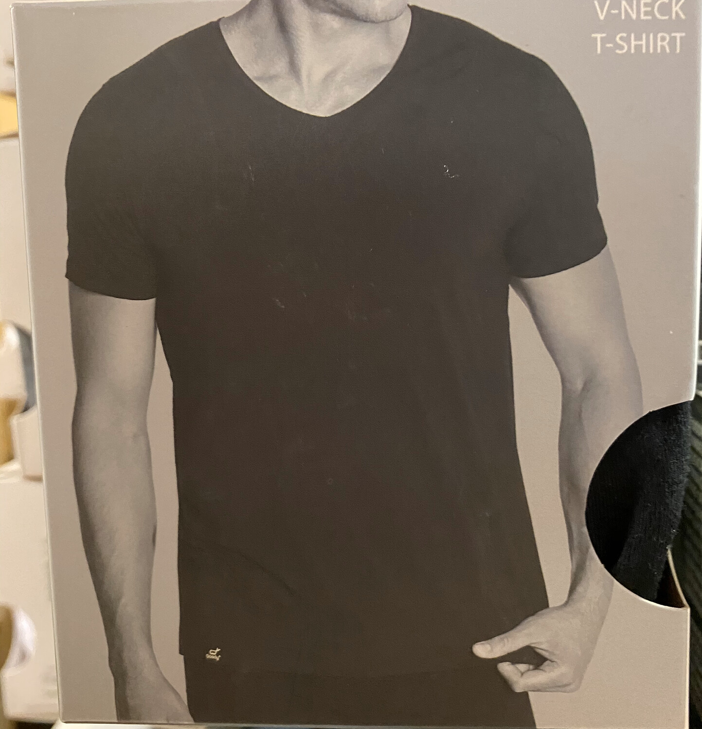 Men's Bamboo Black V Neck T Booty Wear Tap For Sizes