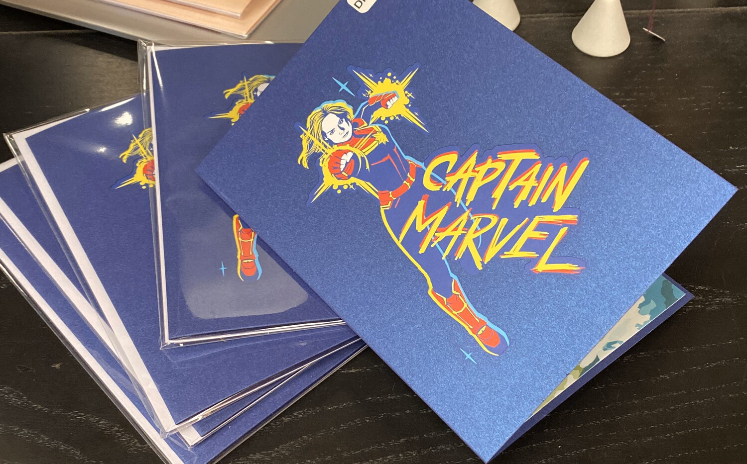 Lovepop Card Captain Marvel