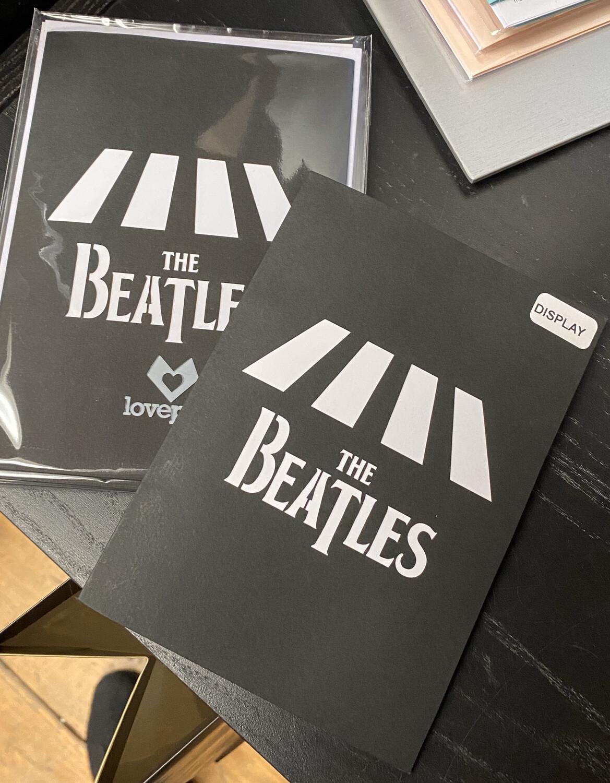 Lovepop Card Beatles Abby Road