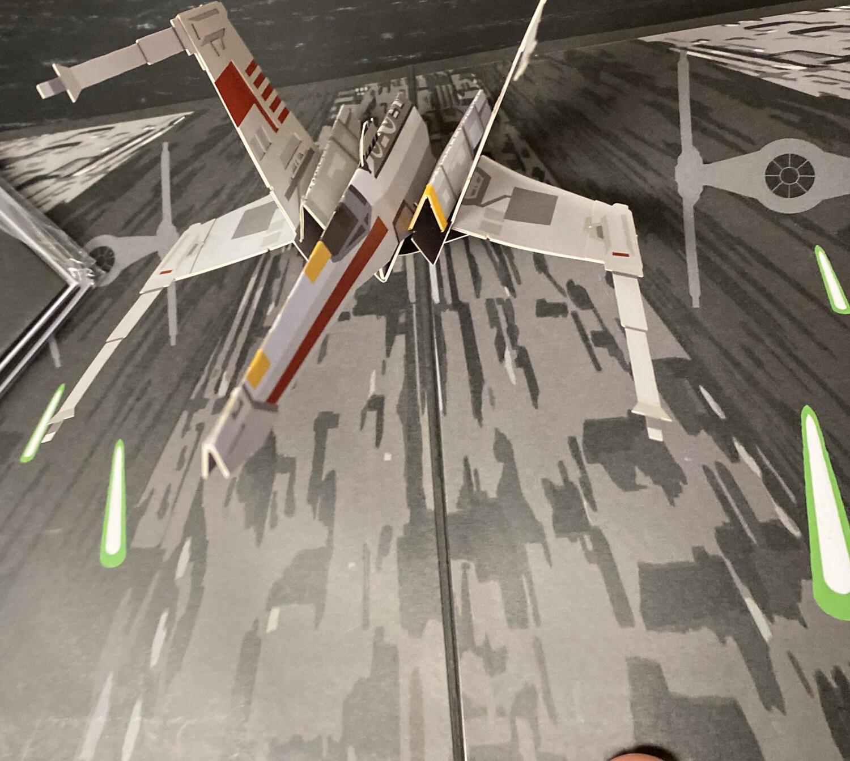Lovepop Card X-Wing Starfighter