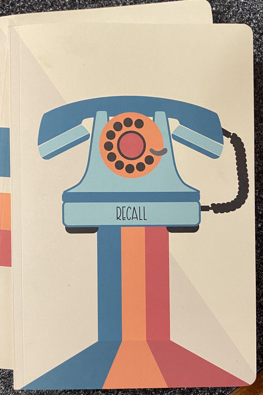 Retro Journal Recall