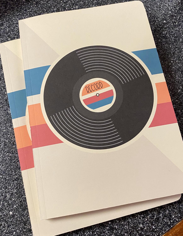 Retro Memory Journal Vinyl Record