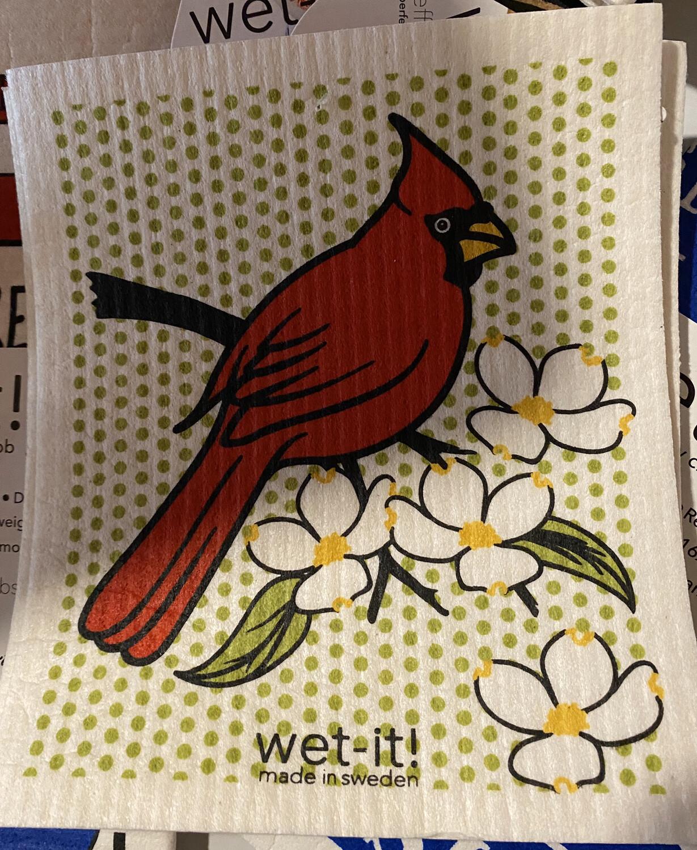 Wet-it Swedish Cloth Cardinal
