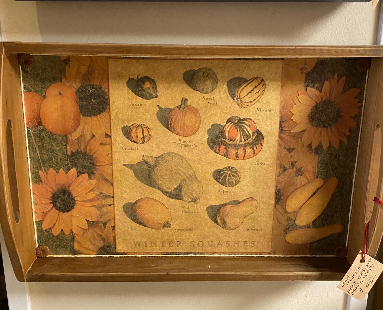 Ask Alice Studios Classic Hand Made Tea Tray