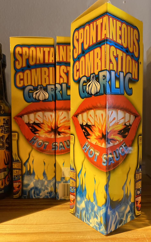 Spontaneous Combustion Garlic Hot Sauce