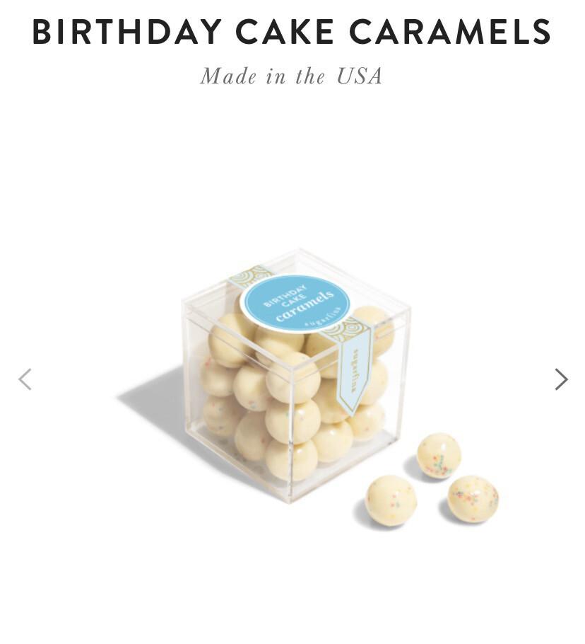 Sugarfina Birthday Cake Caramels.