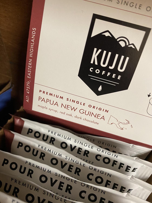 Kuju Pocket Pour Over Papua New Guinea Singles