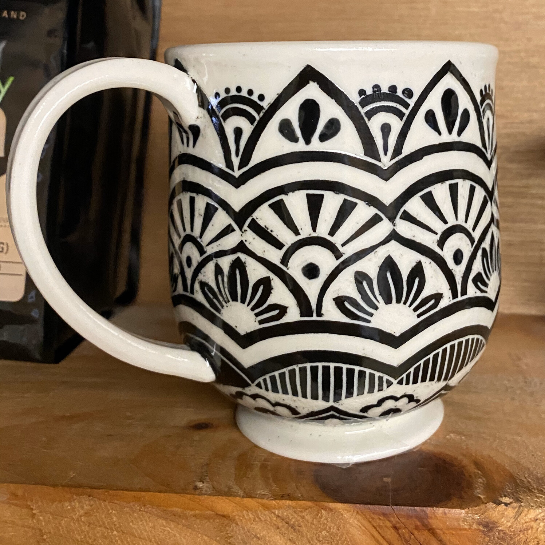 Sgraffito Ceramic Hand Made. In Philadelphia