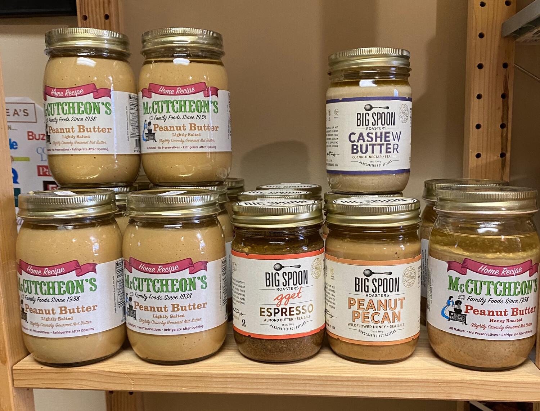 McCutcheon's Lightly Salted Peanut Butter