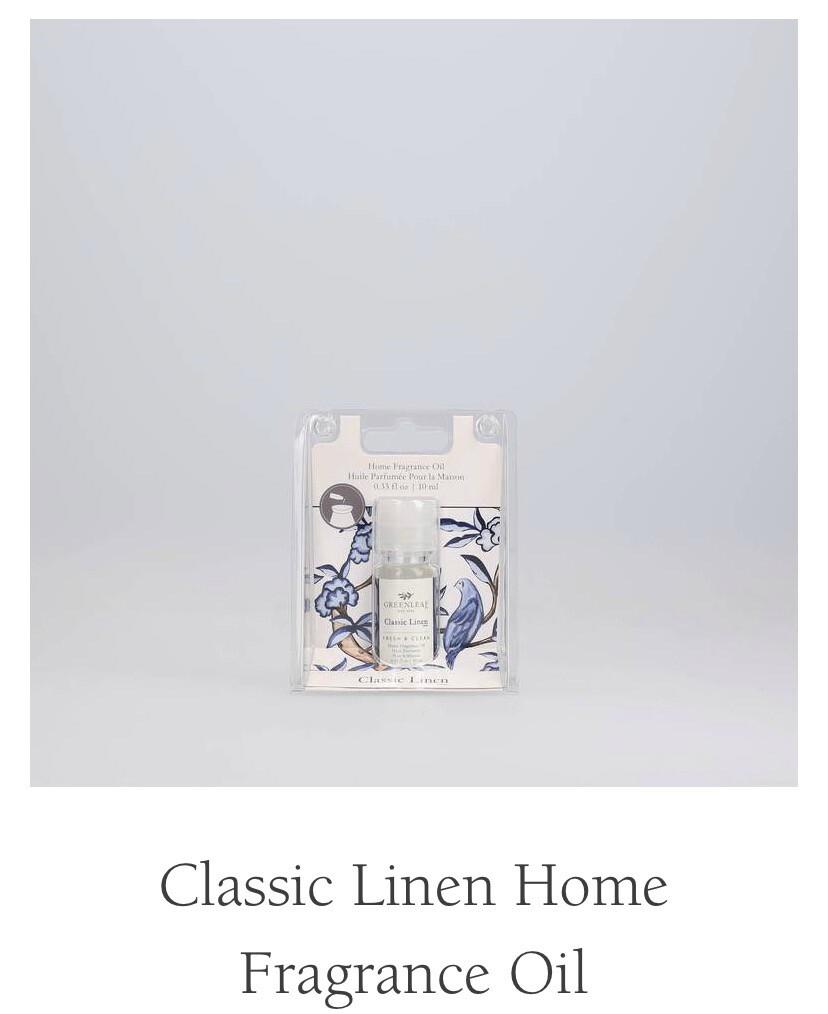 Classic Linen Fragrance Oil