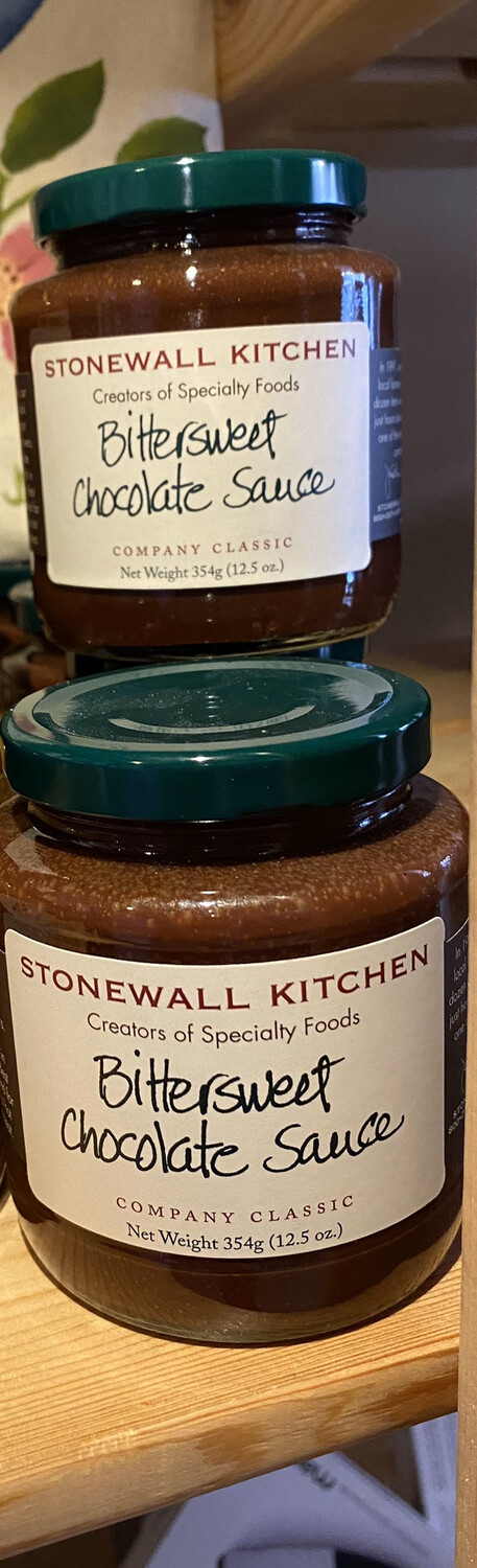 Stonewall Kitchen Bitter Sweet Chocolate Sauce