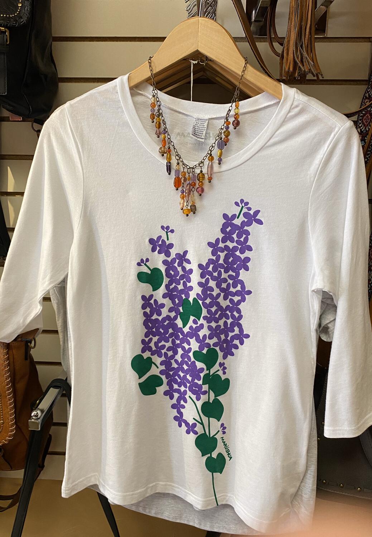 Major Deal Marushka Grape Vine T 3/4 Sleeve