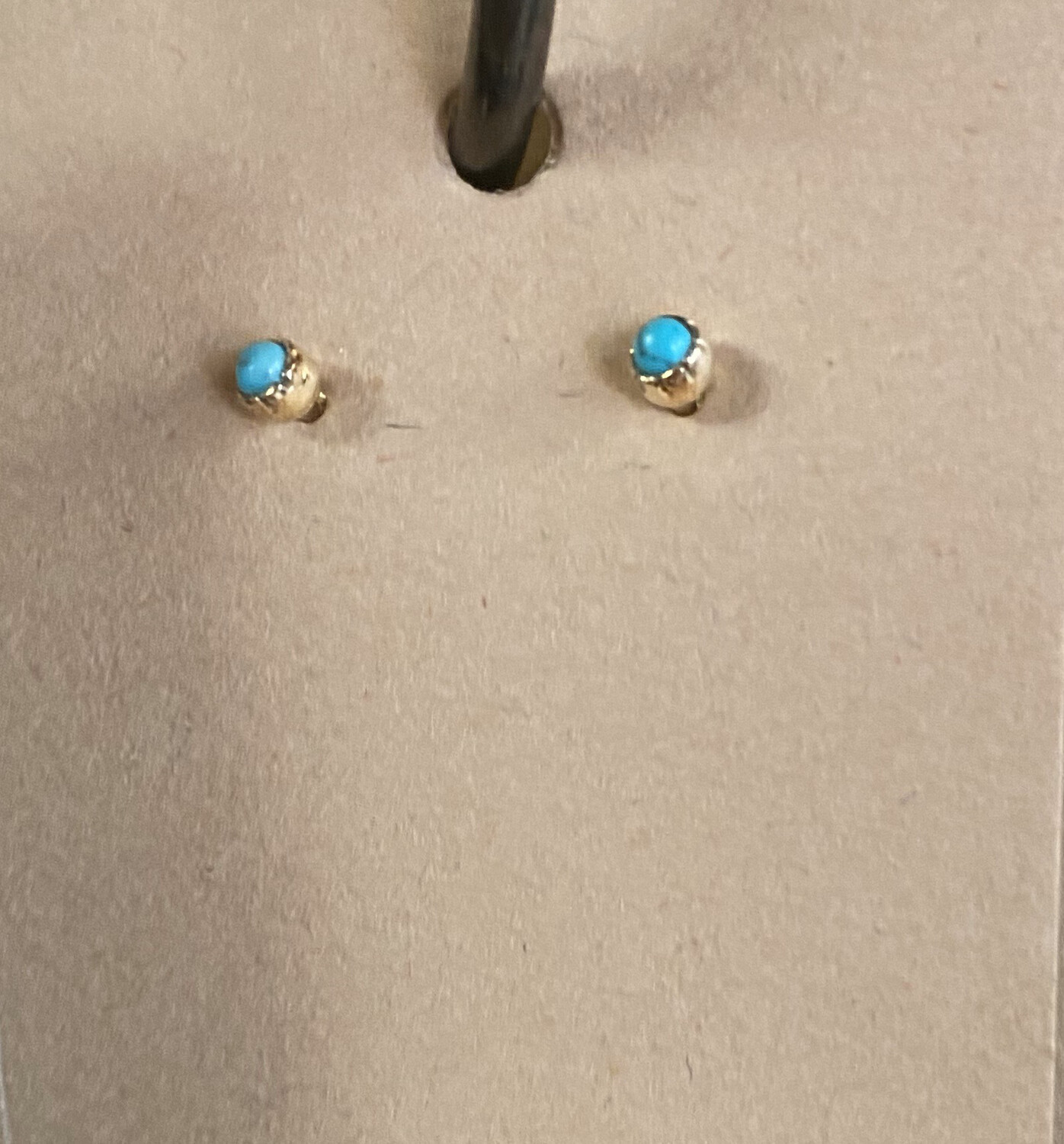 Nino Turquoise Sterling Studs