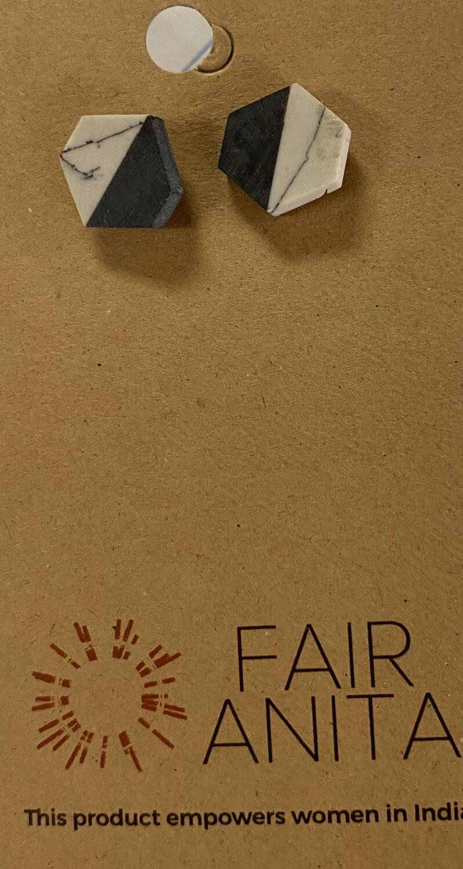 Fair Marble Stud earrings
