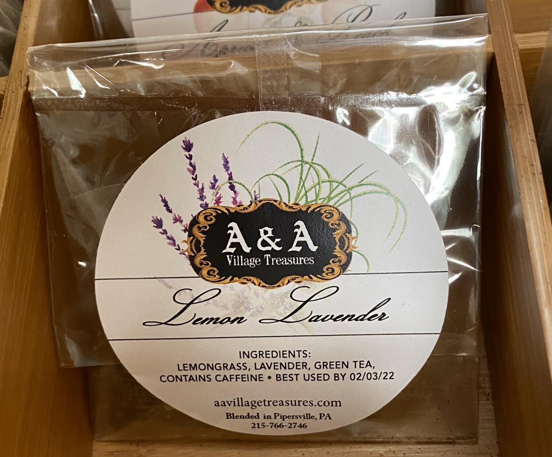 A&A Organic Tea Lemon Lavender Singles