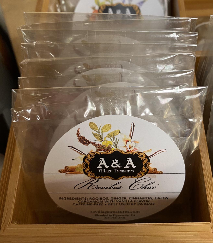A&A Organic Tea Rooibos Chai Singles