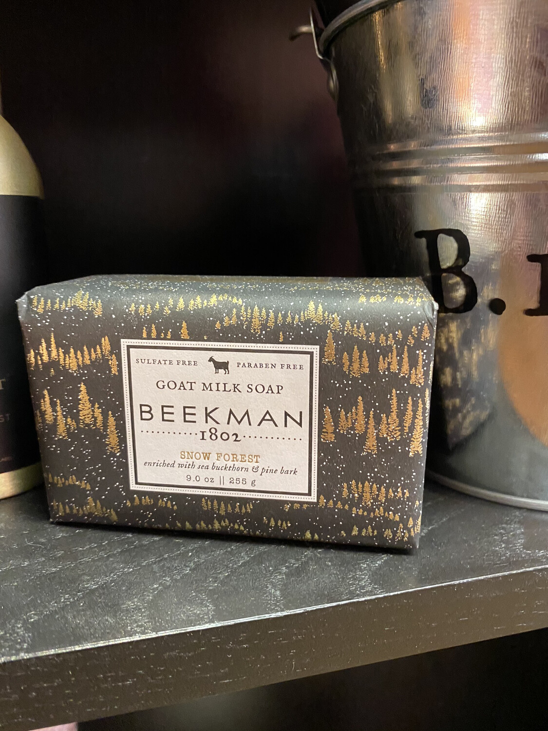 Beekman Snow Forest Soap Enriched With Buckthorn And Pine Bark