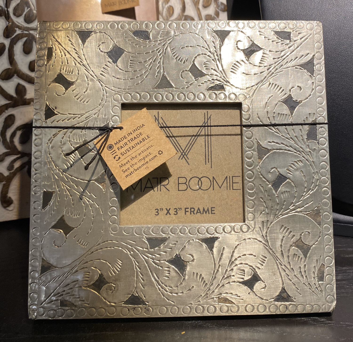 Brass Etched Frame 3X3