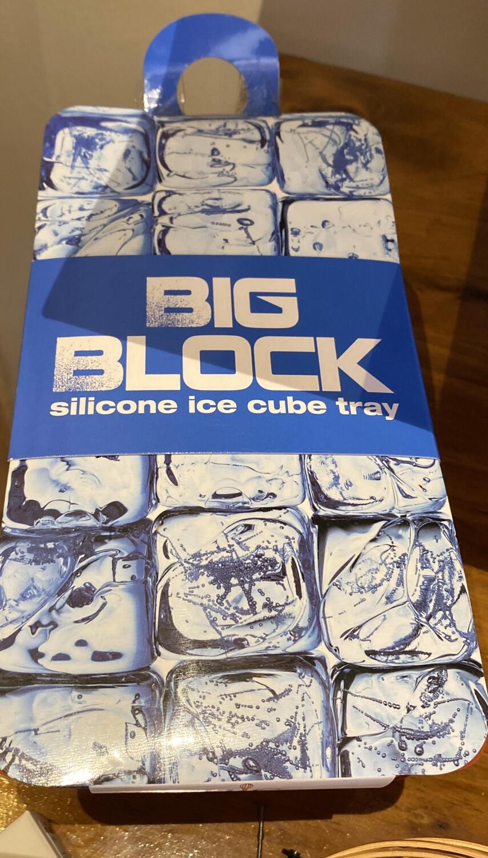 Big Block Silicone Ice Tray