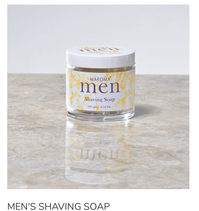 Maroma Men's Fair Trade Natural Shaving Soap Jared And Sealed.