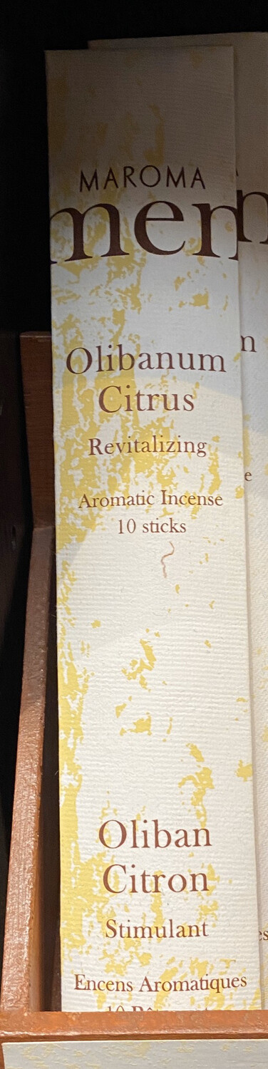 Men's Olibanum Citrus Incense