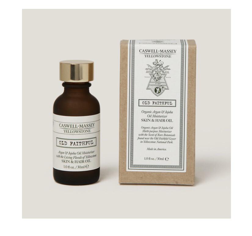 Caswell Massey Old Faith Full Organic Skin And Hair Oil. Great On Beards.