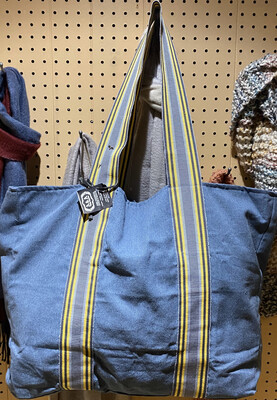 Fair Recycled Denim Extra Large Cotton Carry All Tote