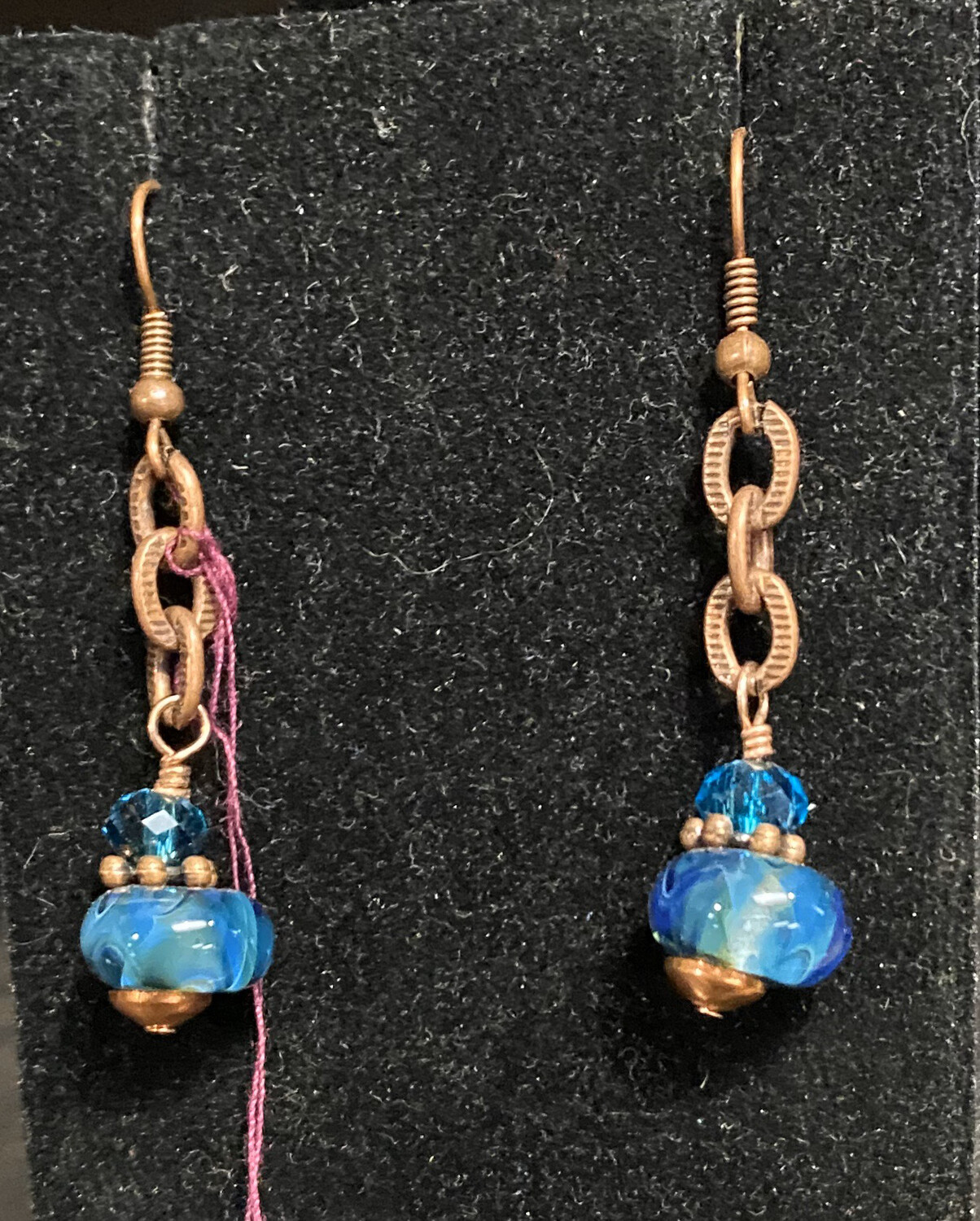 DK Copper Mine Earrings