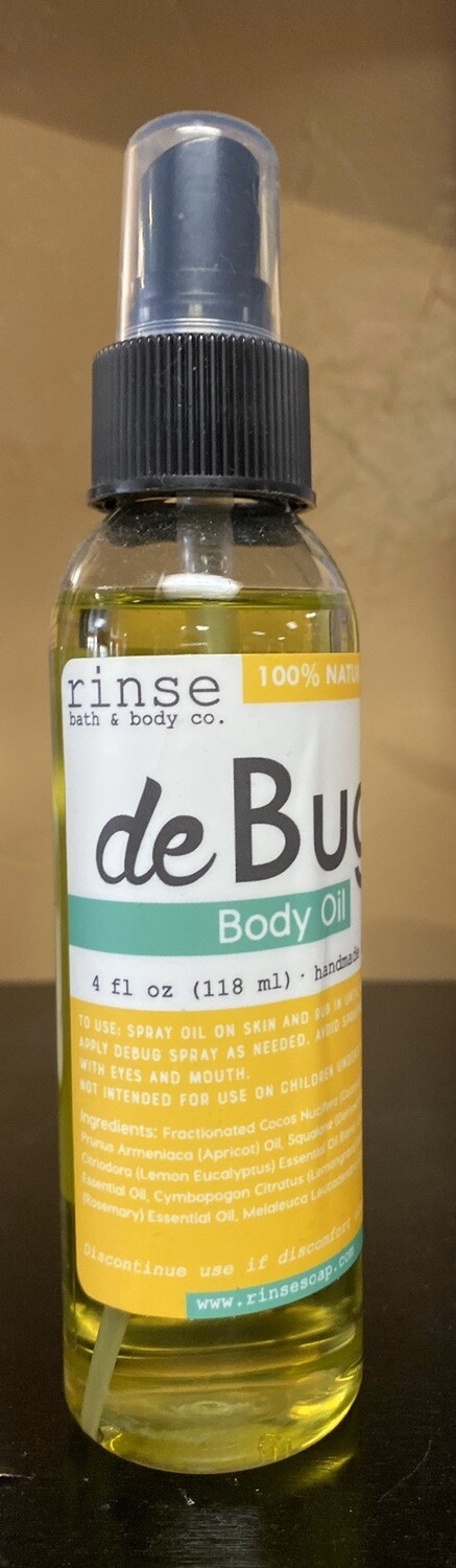 Natural Bug Spray Oil 100% Natural