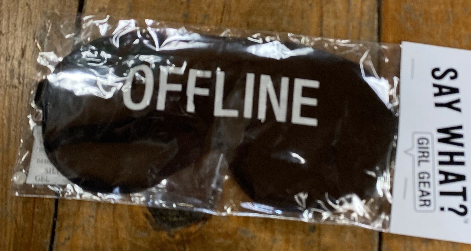 """Offline""  Eye Covers"