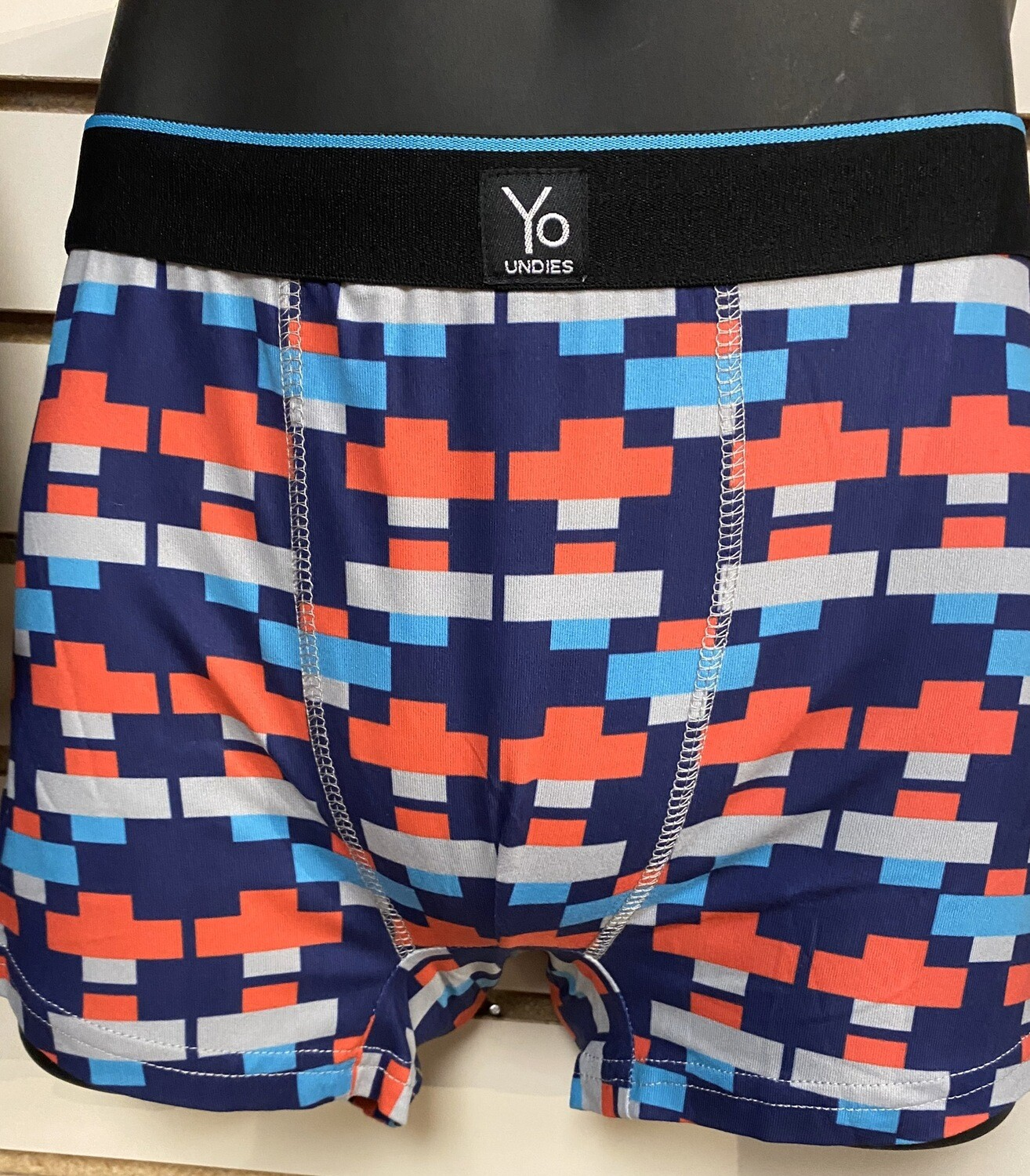 Abstract Men's Softest Boxer Size M