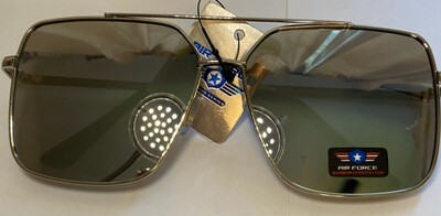 Sunglasses Air Force Inspired Reflective Mirror Finish