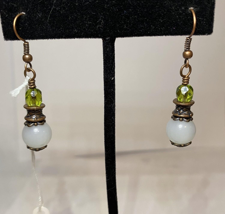 DK Glass Crystal Earring