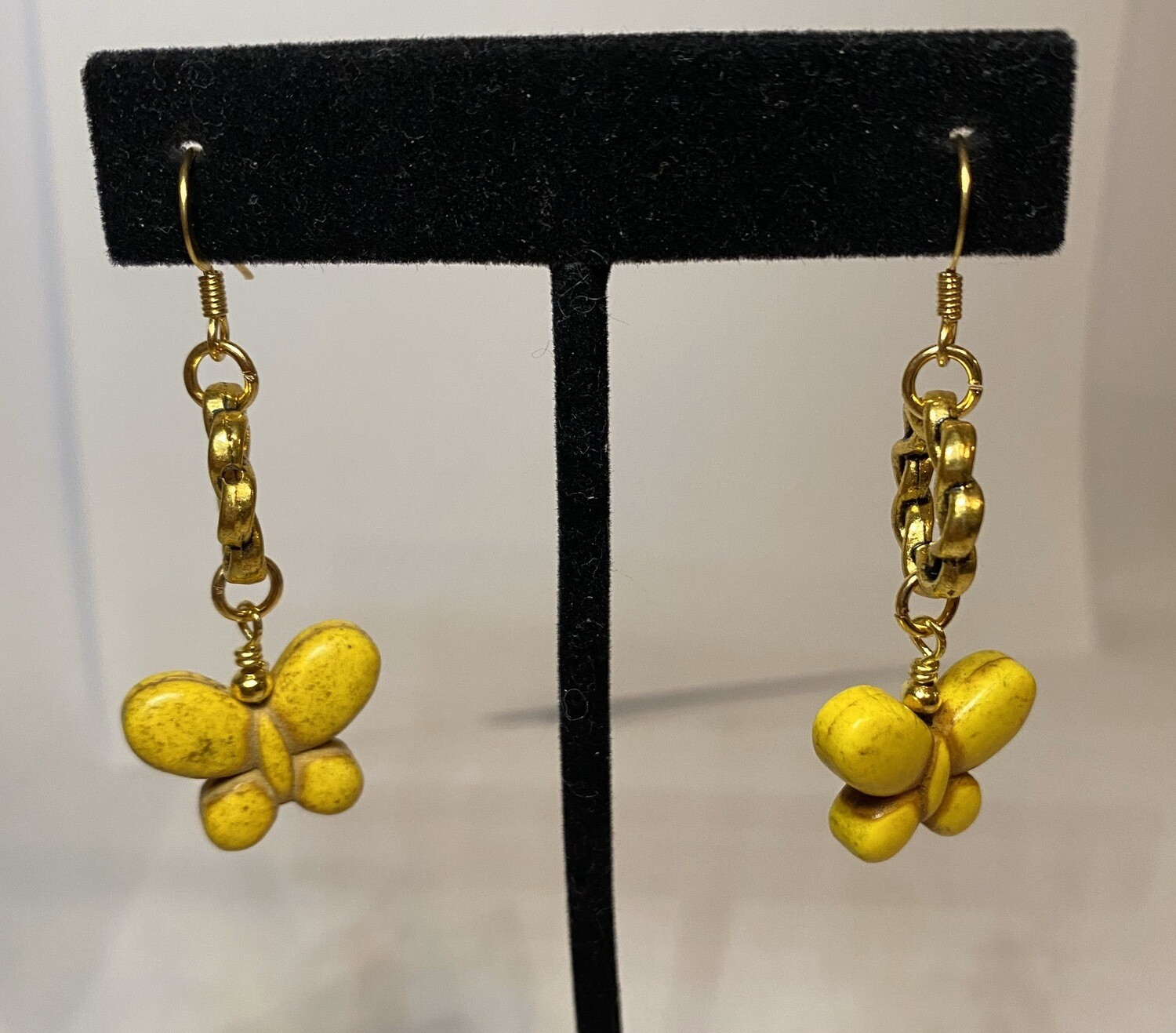DK Yellow Gold With Yellow Butterfly