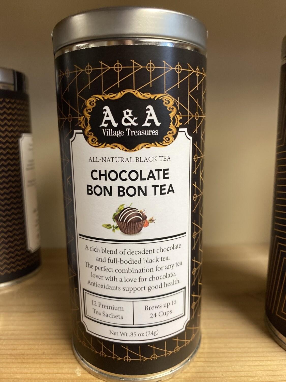 A&A Organic Tea Chocolate Bon Bon 12 Sachets Making 2 To 3 Cups Each