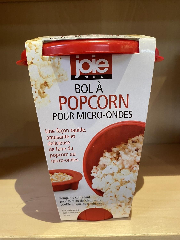 Personal Microwave Popcorn Maker