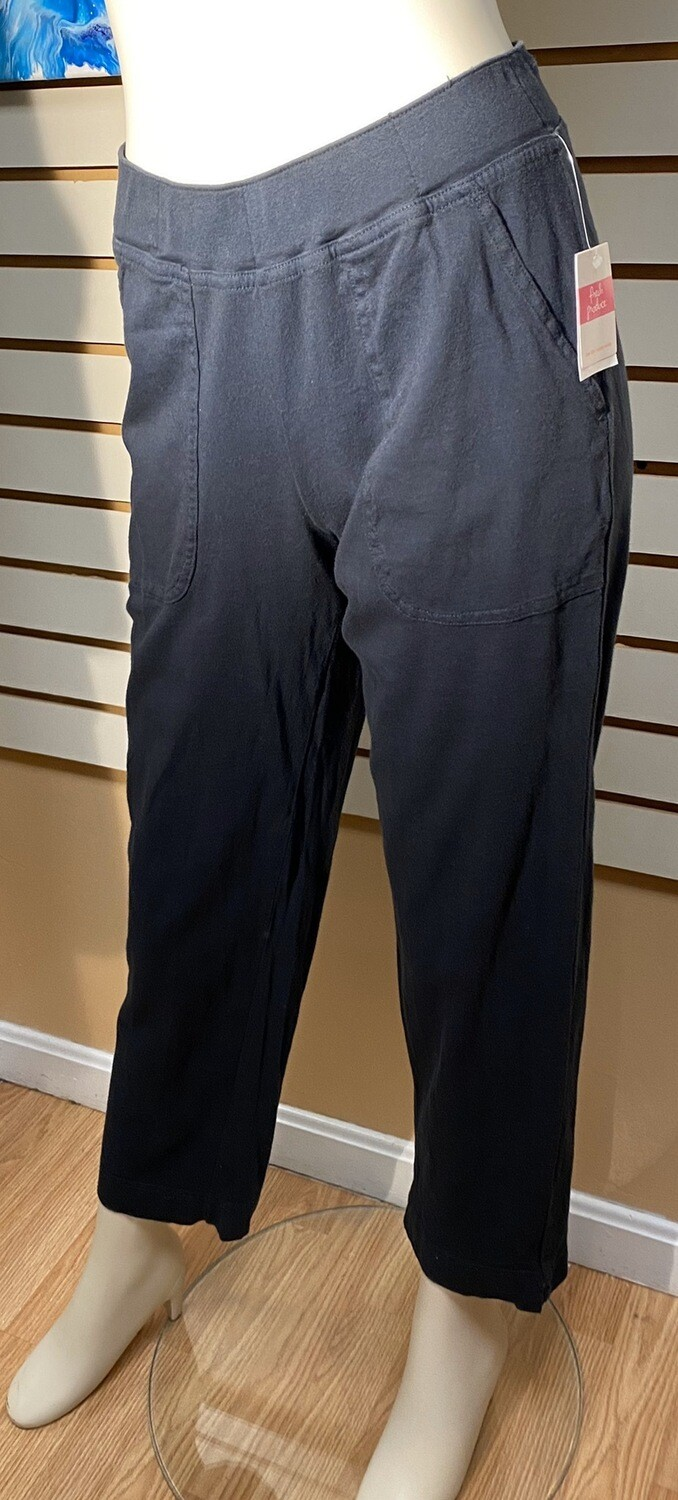Fresh Produce Cotton Pocket Pant Black (only Two) Size Small